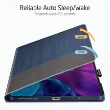 iPad Pro 12.9 Case 2020 Folio Auto Sleep Wake Cover Multiple Angle Viewing Stand