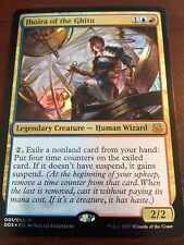 Magic the Gathering FOIL JHOIRA OF THE GHITU MTG Duel Deck Mind vs. Might many