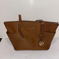 Michael Kors Authentic Charlotte Handbag Luggage