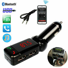 Wireless Bluetooth BT Handfree Car USB Charger Kit Music MP3 Player FM LCD BLACK