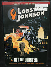 Lobster Johnson #4 - Get the Lobster TPB 1st Print (NM) 2015 Signed Mike Mignola