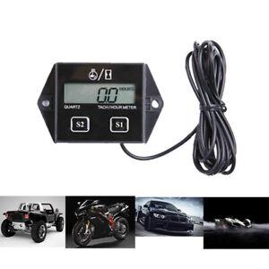 Digital LCD Drehzahlmesser Tachometer Motorsäge Kettensägeandere 2/4 Takter