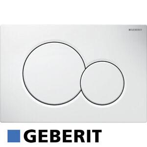 Geberit Betätigungsplatte Drückerplatte Sigma 01 weiß für Duofix UP320 115770115