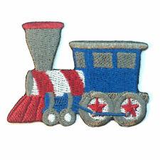 Train Iron On Patch Brodé