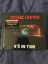 Mylene Farmer No.5 On Tour 2 CD +CDROM & Booklet - Limited Edition - NEW