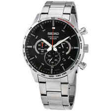 Seiko Men's Black Watch - SSB355