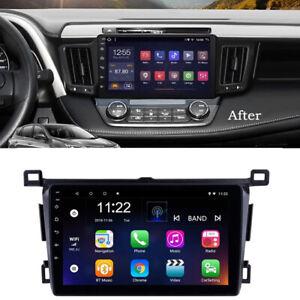 9'' Android 10.0 Car Stereo Radio Head Unit GPS For Toyota RAV4 RHD 2013-2018
