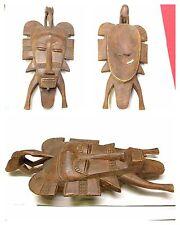 Antike Maske Senufo Afrika Holzfigur Holzmaske mask Africa