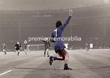 MANCHESTER UNITED FC 1968 EUROPEAN CUP FINAL GEORGE BEST GOAL CELEBRATION PRINT