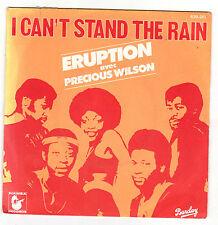 ♫ ERUPTION  ♫ I Can't stand the rain ♫ 1977  45rpm avec Precious Wilson