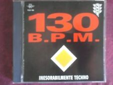 COMPILATION- 130 B.P.M. INESORABILMENTE TECHNO. CD.