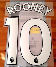 Everton Home/Third Shirt 2017-18 ROONEY#10 PS-Pro SportingiD Name & Number Set