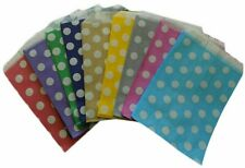 Candy POLKA DOT Paper Bags Sweet Favour Gift  Shop Party Weddings Birthday