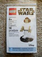 LEGO - Rare - LEGOLAND Exclusive - 6252770 2018 Star Wars Figure Leia Organa