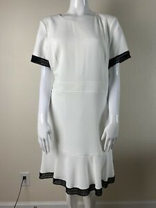 NINE WEST Womens Dress Size 14 Reg . $ 79 White