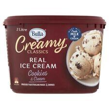 Bulla Creamy Classics Cookies & Cream Ice Cream Tub 2L