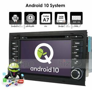 "Für Audi A4 S4 RS4 8E B9 B7 7"" Android 10 2Din Autoradio CD DVD DAB+GPS Navi BT"