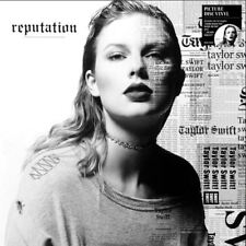 Taylor Swift Reputation picture disc Vinyl 2 LP NEW sealed