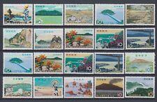Japan Sammlung National Parks auf 6 Steckkarte postfrisch