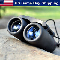 Outdoor Travel 30 x 60 Zoom Folding Day Night Vision Binoculars Telescope + Bag