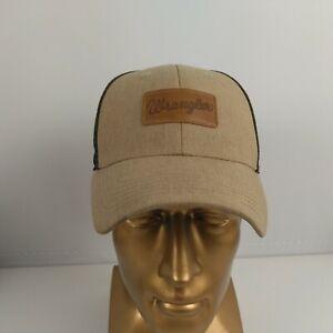 Wrangler Adjustable Mesh Back Snapback Trucker Cap Hat Pocket Patch
