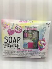 Just My Style Soap On A Rope 8pc Kit w/ Soap + Mold & Accessories Ages 6+ New!