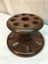 Vintage Smoking Tobacco 8 Pipe Holder MID CENTURY Pick A Pipe Co No 53