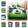 3D Football Bedding Set Sport Soccer Duvet Cover Pillowcase Kids Quilt Cover Set