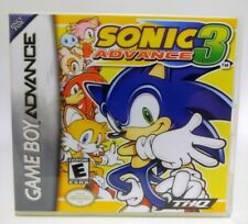 Sonic Advance 3 GBA Custom Replacement CASE (*NO GAME*)