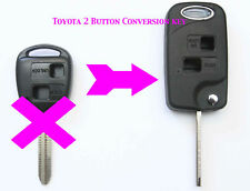 For Toyota RAV 4 CELICA PRIUS Landcruiser PICNIC 2 Button Flip Key & LOGO A32
