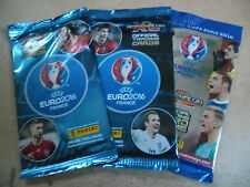PANINI ADRENALYN Official Trading Cards EURO 2016 3 Booster OVP
