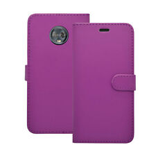 Motorola Moto G6 Wallet Book Flip In Various Colours Cover Case