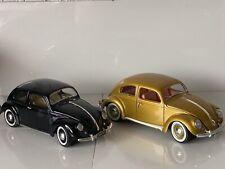 1:18 Scale Burago & Maisto Model Car VW Volkswagen Beetle Motor Classic Cars