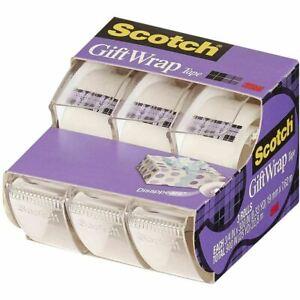 Scotch 3M Gift Wrap Tape Satin Finish 19mm x 7,62 m