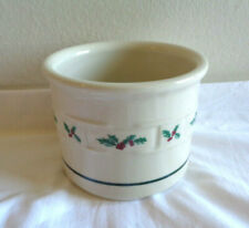 Longaberger Pottery Holly Traditional Woven Traditions Votive Heritage Usa Candl