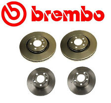 Brembo OEM Brake Kit Two Front + Two Rear Brake Rotors