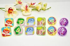 12PCS Inside Out Cake Cupcake Rings Birthday Party Favors Toppers