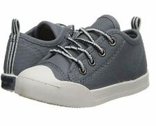 NEW OshKosh Gray Casual Sneakers Westley Laces (Boys' Infant-Toddler) Size 12 M