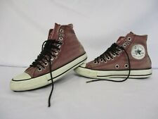 CONVERSE All Star C Taylor High Top Trainers, Burgundy Denim, Size UK 4.5 Eur 37