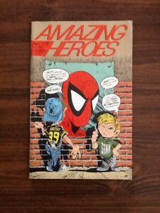 Amazing Heroes #179 VF ( Todd McFarlane Spider-Man Cover).