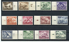WWII German 1943 War Memorial Stamp Complete MNH with Selvidge on EVERY STAMP