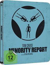 MINORITY REPORT (Tom Cruise, Colin Farrell) Blu-ray Disc, Steelbook NEU+OVP