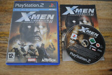 Jeu X-MEN LEGENDS II 2 sur Playstation 2 PS2 CD REMIS A NEUF PAL VF