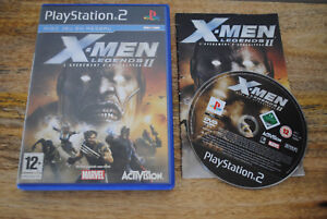 Jeu X-MEN LEGENDS II 2 sur Playstation 2 PS2 CD REMIS A NEUF PAL VF