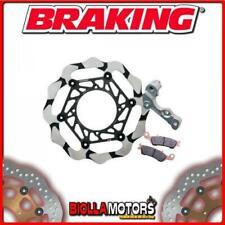 OKBY24 DISCO FRENO KIT MAGGIORATO ANTERIORE SX BRAKING SUZUKI RMX 450cc 2012 WAV