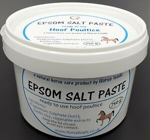 Epsom Salt Paste 750 g by Horse Leads, ready to use hoof poultice.