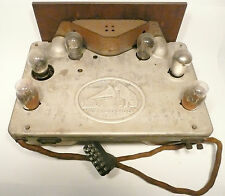 """vintage 1929 VICTOR MODEL R-52 - complete TUNER w/ TUBES, easy tuning, """"AS-IS"""""""