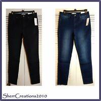 NWT ELLEN TRACY Denim The Newport High Rise Skinny Jeans Leggings #180313-144