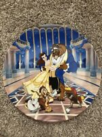 "Walt Disney Beauty And The Beast - Collector Plate ""Love's First Dance"""