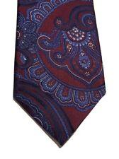 Tasso Elba Men's Luxury Neckwear Ravenna Paisley Multicolor Neck Tie New